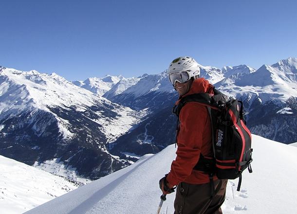 Topptur i Alperna.