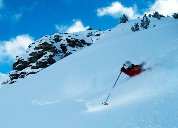 Deep powder.